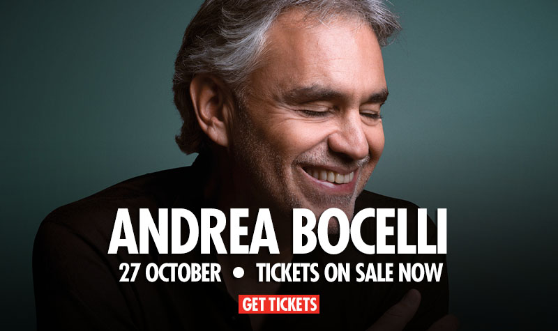 Buy tickets for Andrea Bocelli