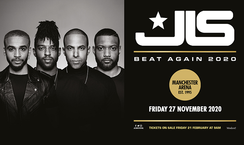Buy tickets for JLS