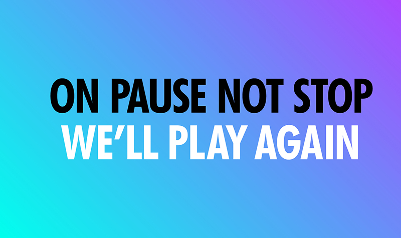 Buy tickets for On Pause Not Stop. We'll Play Again.