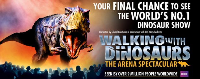 Walking With Dinosaurs Manchester Arena