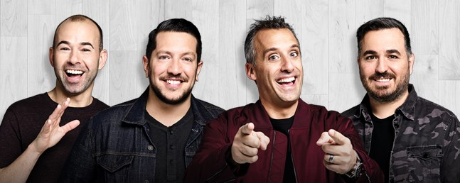 "Impractical Jokers ""The Cranjis McBasketball World Comedy Tour"" Starring The Tenderloins - Picture 1"