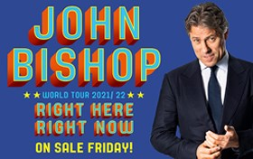 John Bishop - Right Here Right Now World Tour