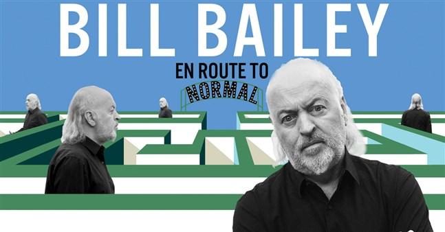 Bill Bailey - EN ROUTE TO NORMAL TOUR - Picture 1