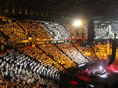 Young Voices surpass Take That's record of 46 shows