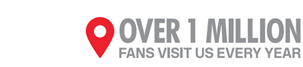 OVER ONE MILLIONS FANS VISIT US EVERY MONTH