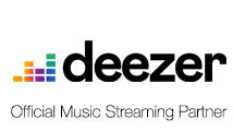 Deezer - Official Music Streaming Partner